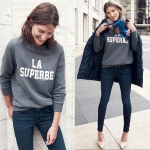 Madewell Sezane La Seperbe Pullover Sweatshirt